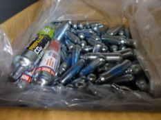 Box of air pistol C02 cannisters