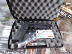 Cased Chiappa Firearms .177 pellet air pistol