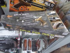 Boxed CP1-M C02 Multi .177 pellet air pistol