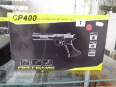 Boxed CP400 C02 pellet air pistol
