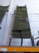 Green army stretcher