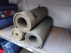 Three roll mats