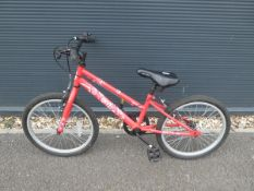Envy childs BMX bike in red