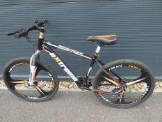 4047 - Extreme mountain bike in black