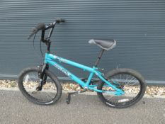 Venom BMX bike in blue