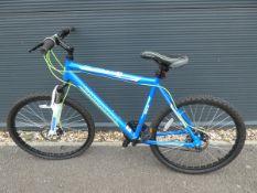 Barracuda mountain bike in blue and green