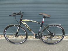 4044 - Extreme mountain bike in black