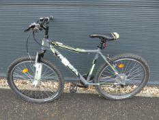 Rommett mountain bike in green and grey