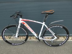 4045 - Extreme mountain bike in white