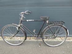Reproduction vintage Avon bike in black