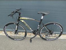 4043 - Extreme mountain bike in black