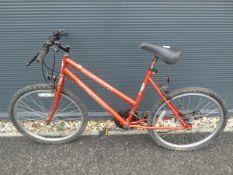 Margarita professional mountain bike in red