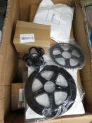 Box of bike parts