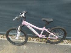 Pink Adventure girls bike