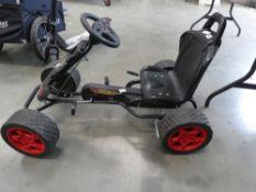4 wheel pedal go kart