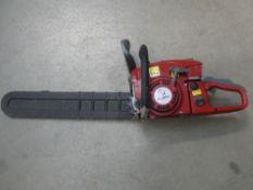 Petrol powered chainsaw