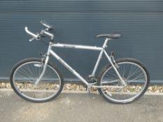 Triumph silver gents mountain bike