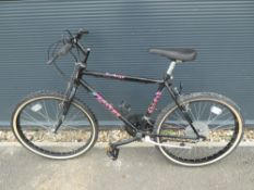 Black Apache mountain bike