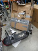 Boxed Toyz electric scooter in parts