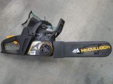 MacCulloch petrol powered chainsaw