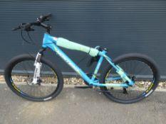 Montana blue mountain bike