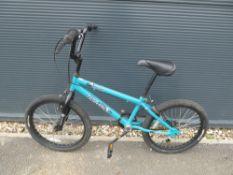 Turquoise BMX