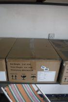 (1085) Box of 6 Kimberly solar ball lights