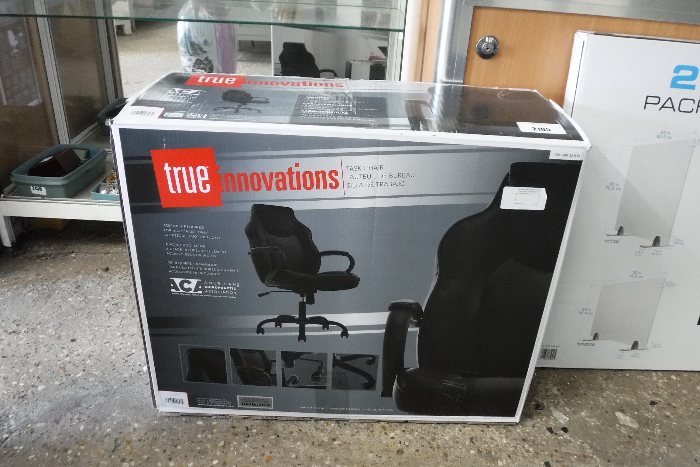 (2021) Boxed True Innovations office chair