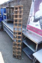2 6'x1' trellis panels