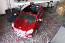 Childrens toy Mercedes GL63