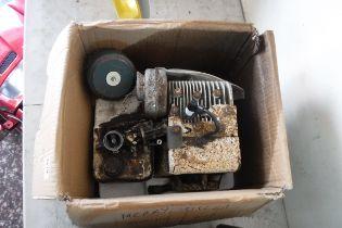 Merry Tiller engine in box