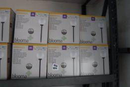 (1076) 6 Kimberly solar stake lights