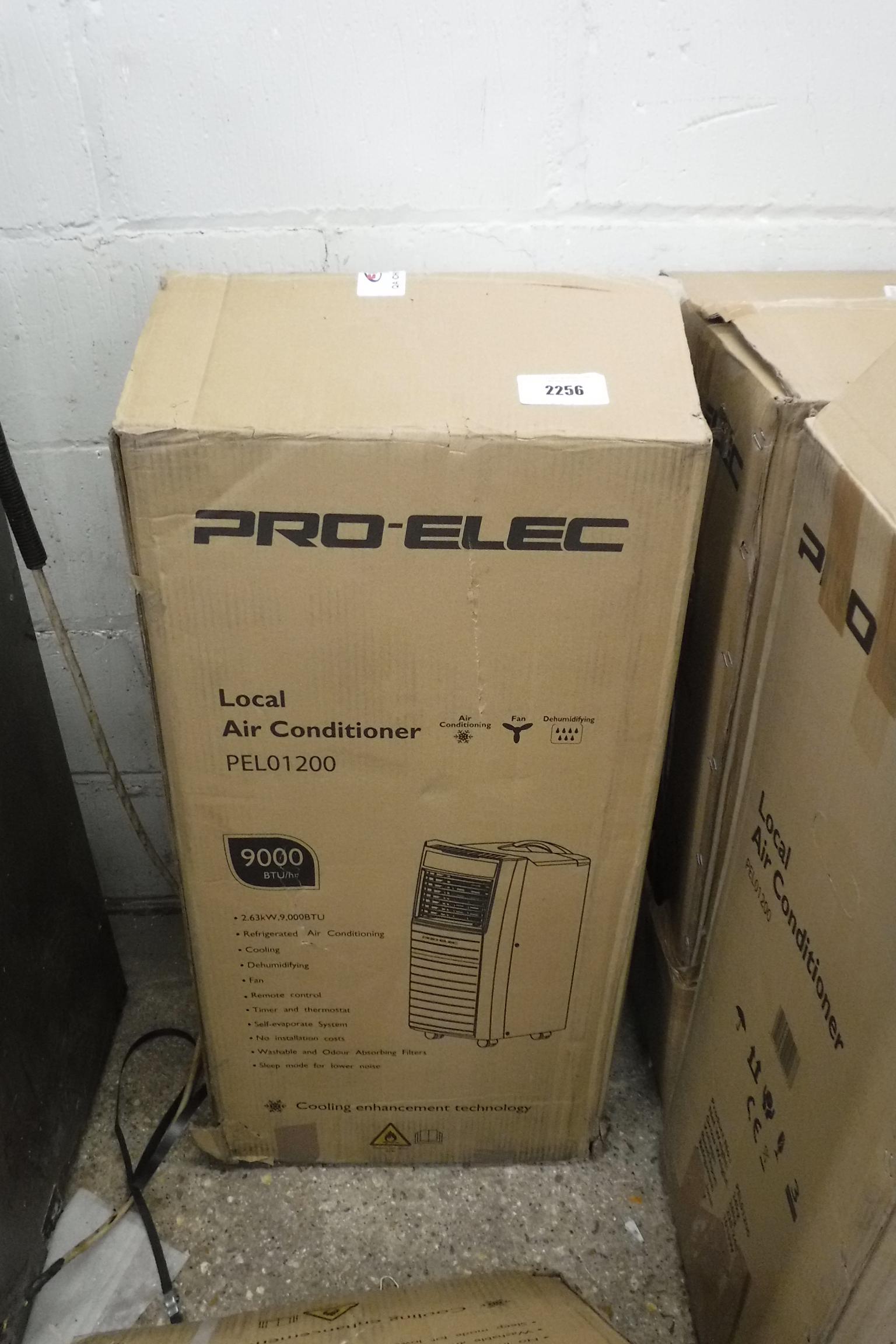 Boxed Pro Elec PEL01200 local air conditioning unit