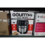 (2291) Boxed Gourmia digital air fryer