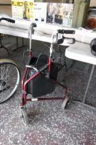 (1122) 3 wheeled walker