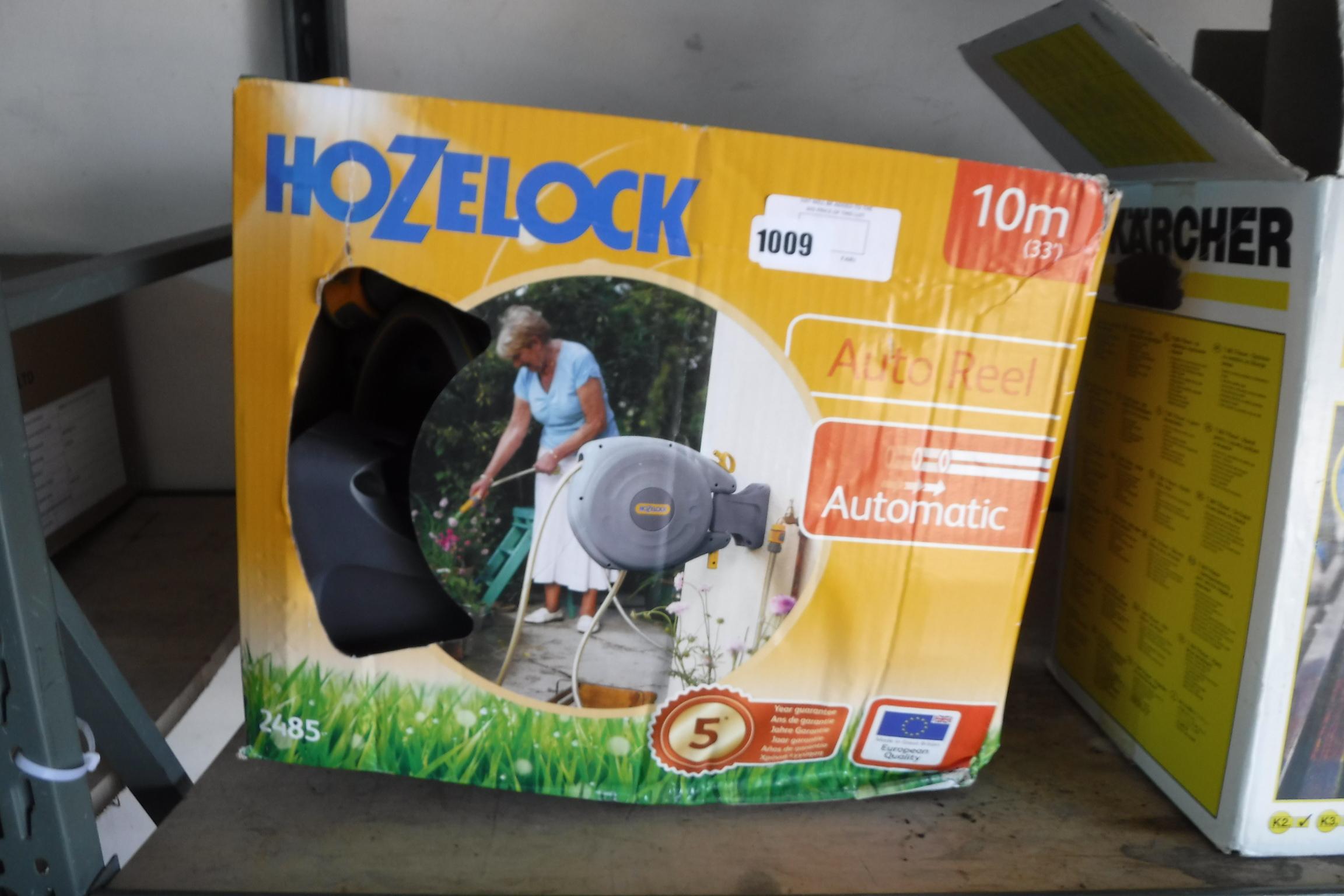 Hozelock 10m auto reel hose