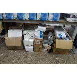 Under bay of various printer toner