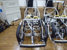 Rolling DryCycle electric assist pedal cycle aluminium frame incl. wheels, tyres, motor, gearbox,