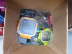 Box of glass lock food containers