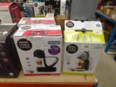 (67) Mini me Nescafe Dolce Gusto coffee machine plus 2 further coffee machines