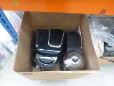 3107 Box containing Bosch coffee machine and Nespresso coffee machine