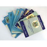 Tottenham Hotspurs: Twenty-three official handbooks dating from 1958-1982,