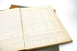 A ledger relating to the expenses of Blisworth Mill, Northamptonshire, from 1927 to 1959,