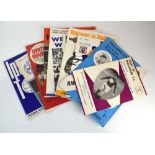 Football programmes: approximately two hundred and ninety English League programmes and magazines
