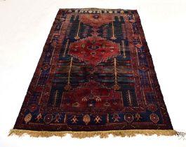 An Iranian woolen carpet,