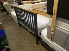(251) Bed frame, 4'6'' (cracked headboard) (A)