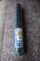Roll of garden fencing, 10mx1.2m