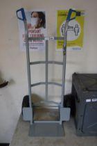2 wheeled aluminium sack barrow