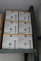 6 boxed Kimberly solar stake lights
