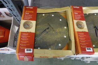 30cm (12'') outdoor Berwyn garden clock